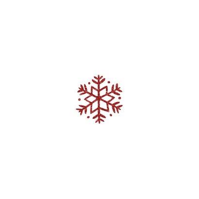 Kerstkaart vierkant met sierlijke letters en foto's Achterkant