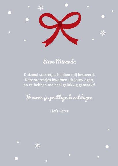 Kerstkaart voor geliefde 3