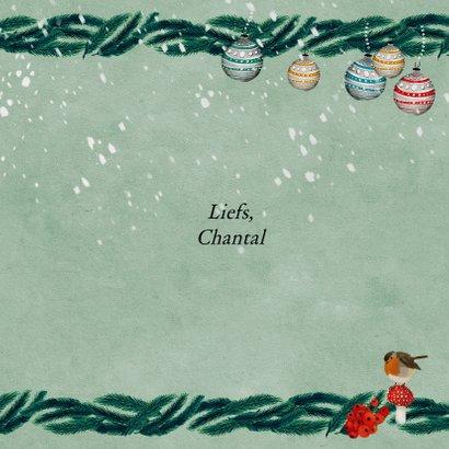 Kerstkaart voor geliefden 3