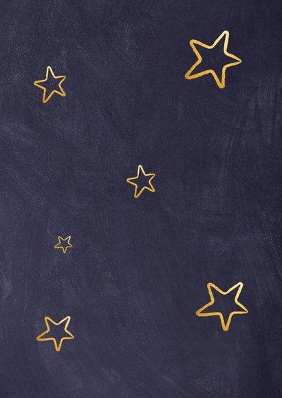 Kerstkaart voor medewerkers - duimpjes voor jullie werk Achterkant