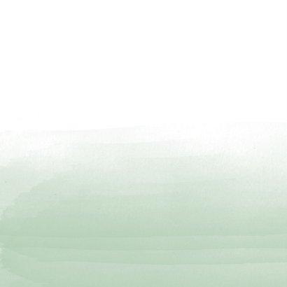 Kerstkaart waterverf takjes 2