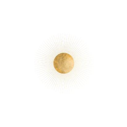 Kerstkaart wereldbol goud Achterkant