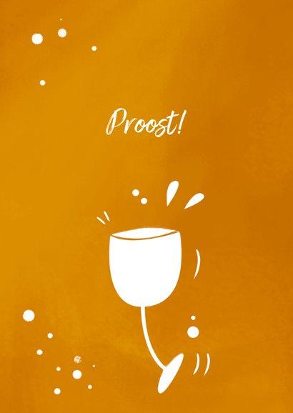 Kerstkaart wijn met logo 2