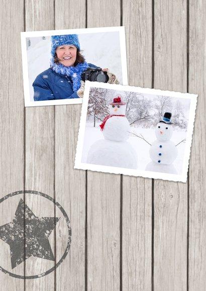 Kerstkaart Winterse fotomix 2