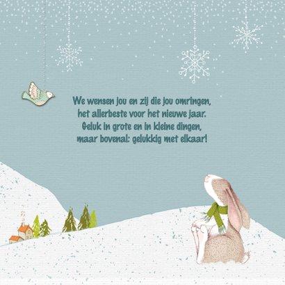 Kerstkaart winterwonderland 3