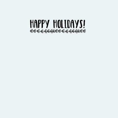 Kerstkaart Zachtblauw - WW 3