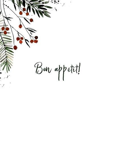 Kerstmenu kaart bessentakjes 2