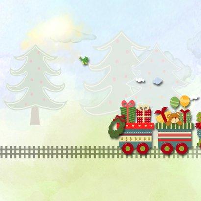 Kersttrein met kerstman 2