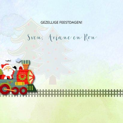 Kersttrein met kerstman 3