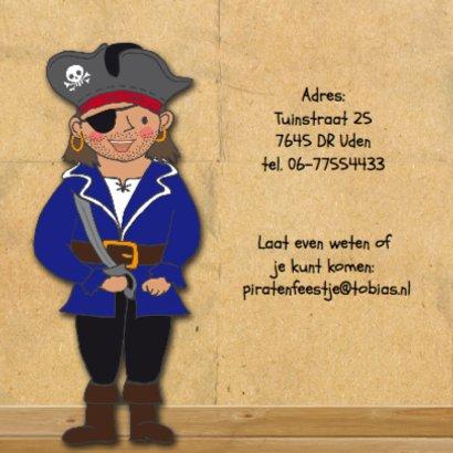 Kinderfeest piraat eigen foto 2