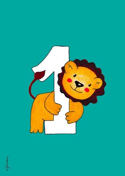 Kinderfeestje 1 jaar leeuwtje - HR 2