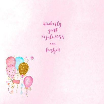 Kinderfeestje ballonnen foto 2