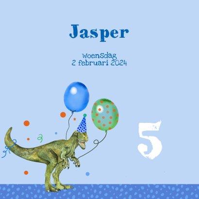 Kinderfeestje dinosaurus ballonnen 2