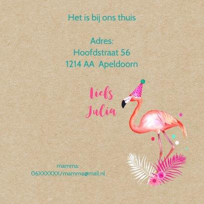 Kinderfeestje flamingo ballonnen 3
