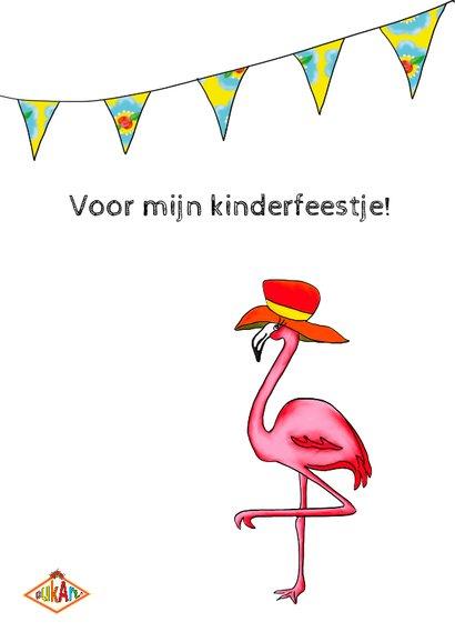 Kinderfeestje gekke flamingo 2