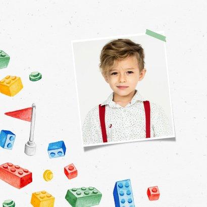 Kinderfeestje jongen lego hip creatief vrolijk 2