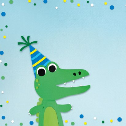 Kinderfeestje krokodil 2