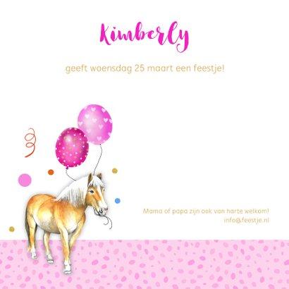 Kinderfeestje paardje ballonnen 2