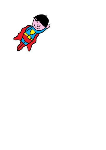 kinderfeestje superman blond 2