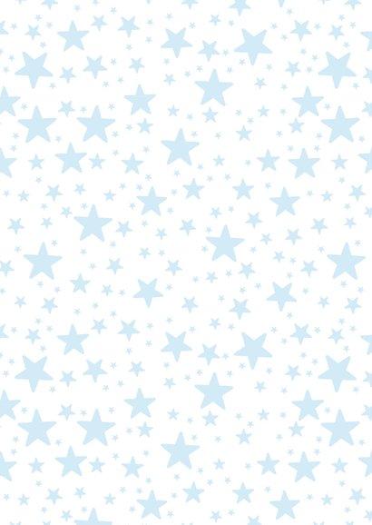 Kinderfeestje uitnodiging jongen sterren houtlook 2