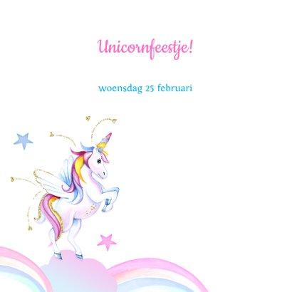Kinderfeestje unicorn regenboogjes 2