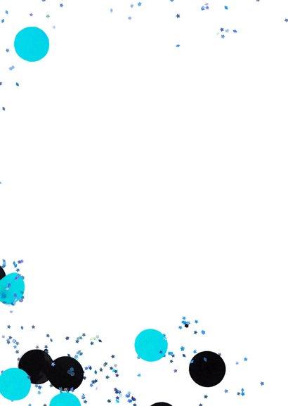 Kinderfeestje1 jaar confetti boy 2