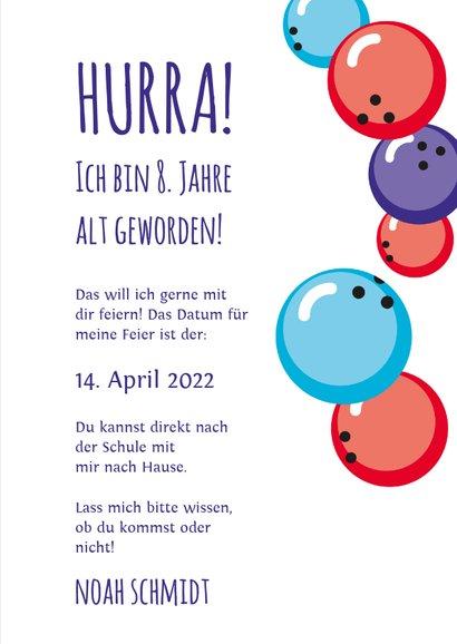 Kindergeburtstag Bowlingcenter Bensheim 3