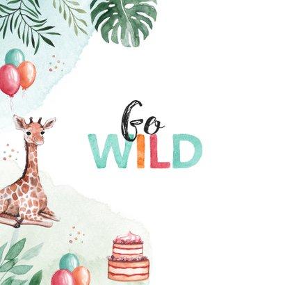 Kindergeburtstag Einladung GO WILD 2