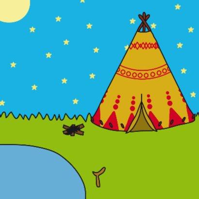 Kinderkaart Indianen 2