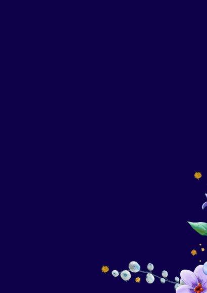 Kleurrijke beterschapskaart met Rozen en Anemonen 2