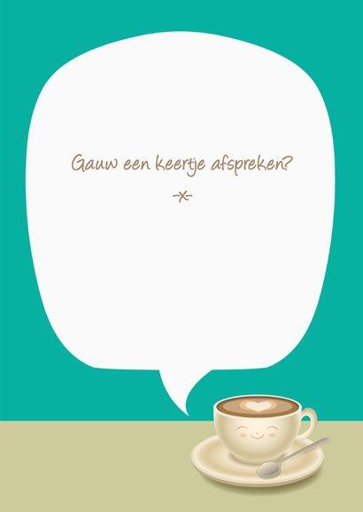 Koffie afspreken - TW 3