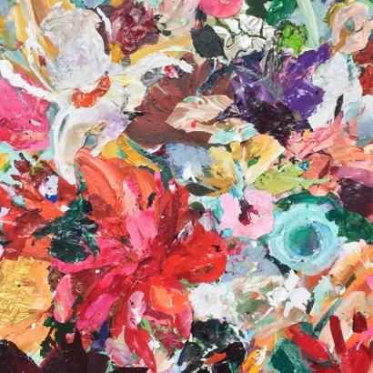 Kunst kleurrijke bloemen 2