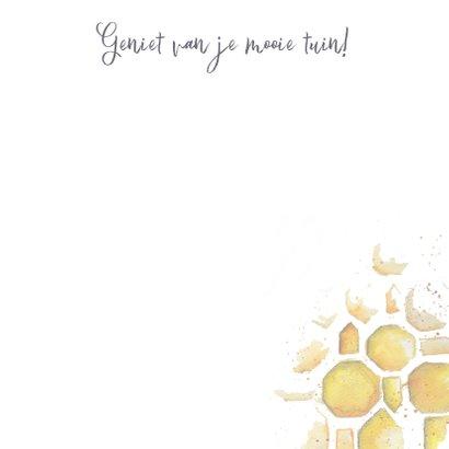 Kunstkaart focus bijen 3