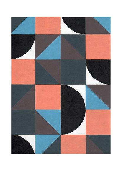 Kunstkaart - Geometrische abstractie   2 2