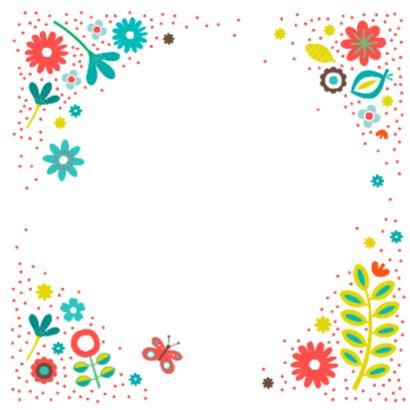 Kusje met bloemen 2
