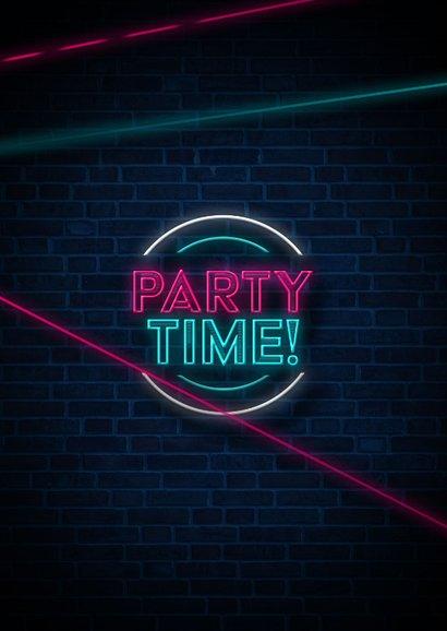 Laserparty kinderfeestje stoer indoor uitnodiging 2