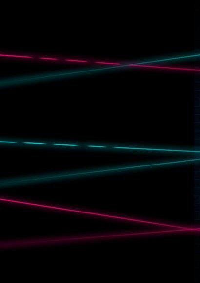 Lasertag Kindergeburtstag Einladung rosa mit Foto Rückseite