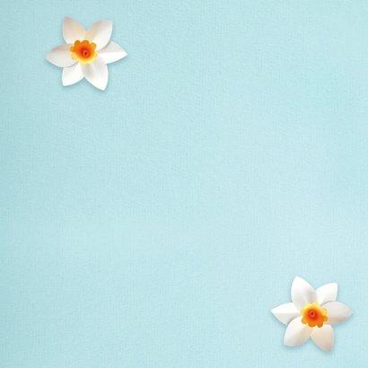 Lentebloemen moederdagkaart 2