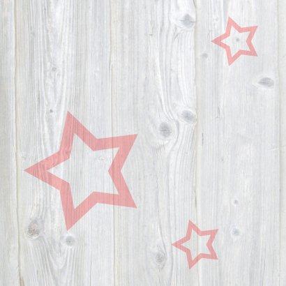 Leuke nieuwjaarskaart met sterren 2