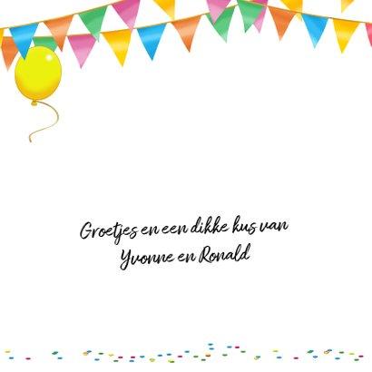 Leuke verjaardagskaart met heerlijke limonade en cupcakes 2