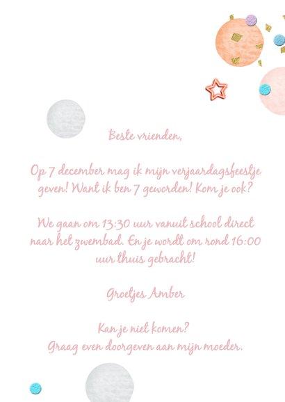 Lief kinderfeestje meisje- confetti 3