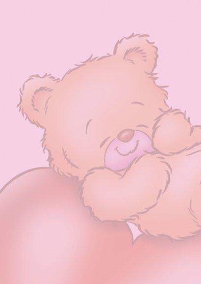 Liefde beertje ligt op hart 2