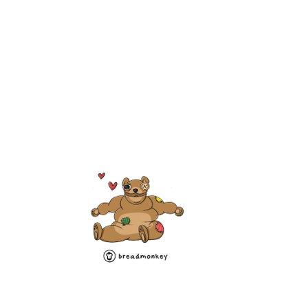 Liefde dikke knuffel kaart 2