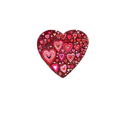 Liefde gekleurde hartjes 2