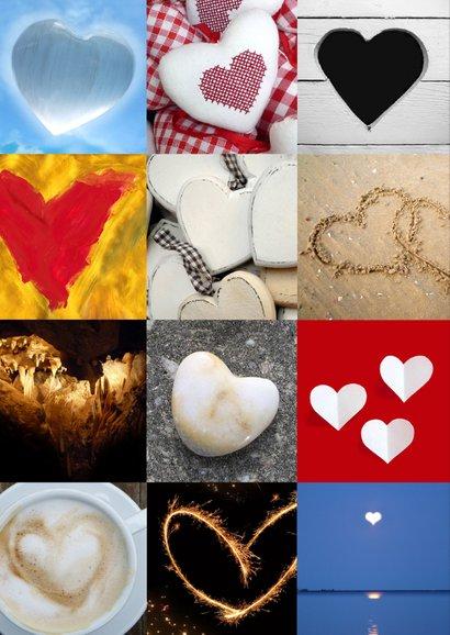 Liefde hartenkaart 2