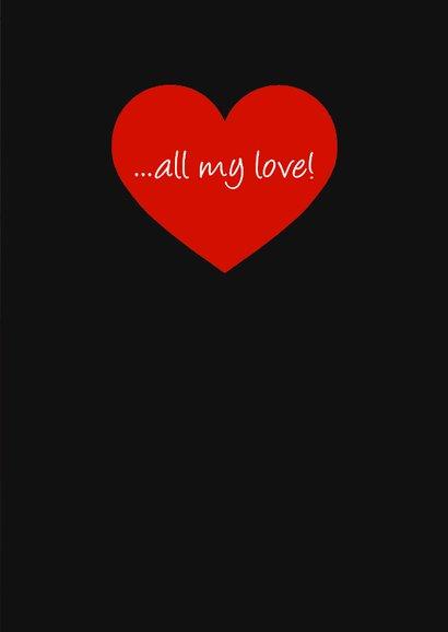 Liefde hartenkaart 3