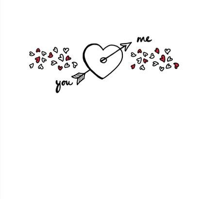 Liefde - I love you white 3