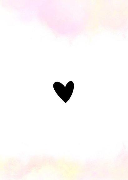 Liefde kaart - Dikke kus door de brievenbus 2