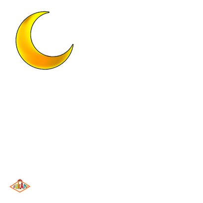 Liefde kaart to the moon  2