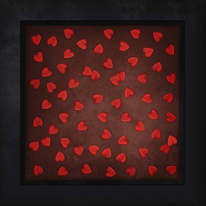Liefde kaart voor de leukste chocolade (c)hunk 2